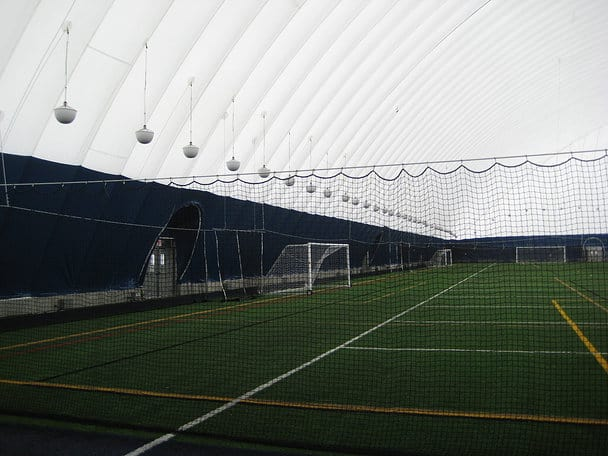Soccer Field In Holy Angels Dome