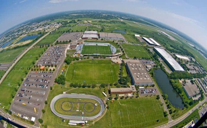 Soccer Fields at National Sport Center Blaine