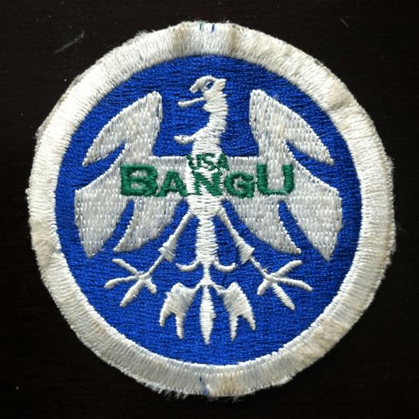 Original Bangu FC Badge - 1988