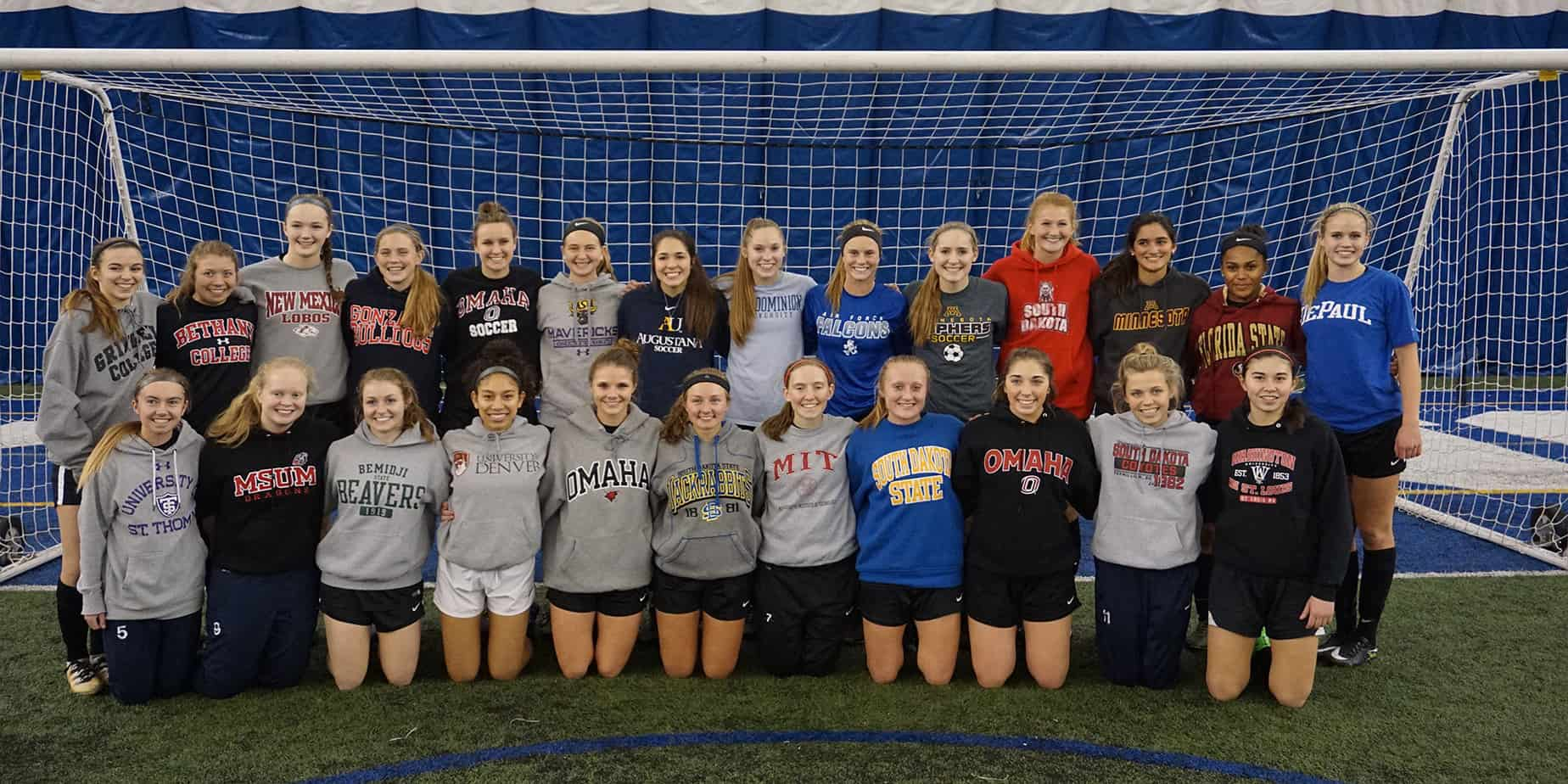 2106-17 MTA Girls Soccer College Commitments