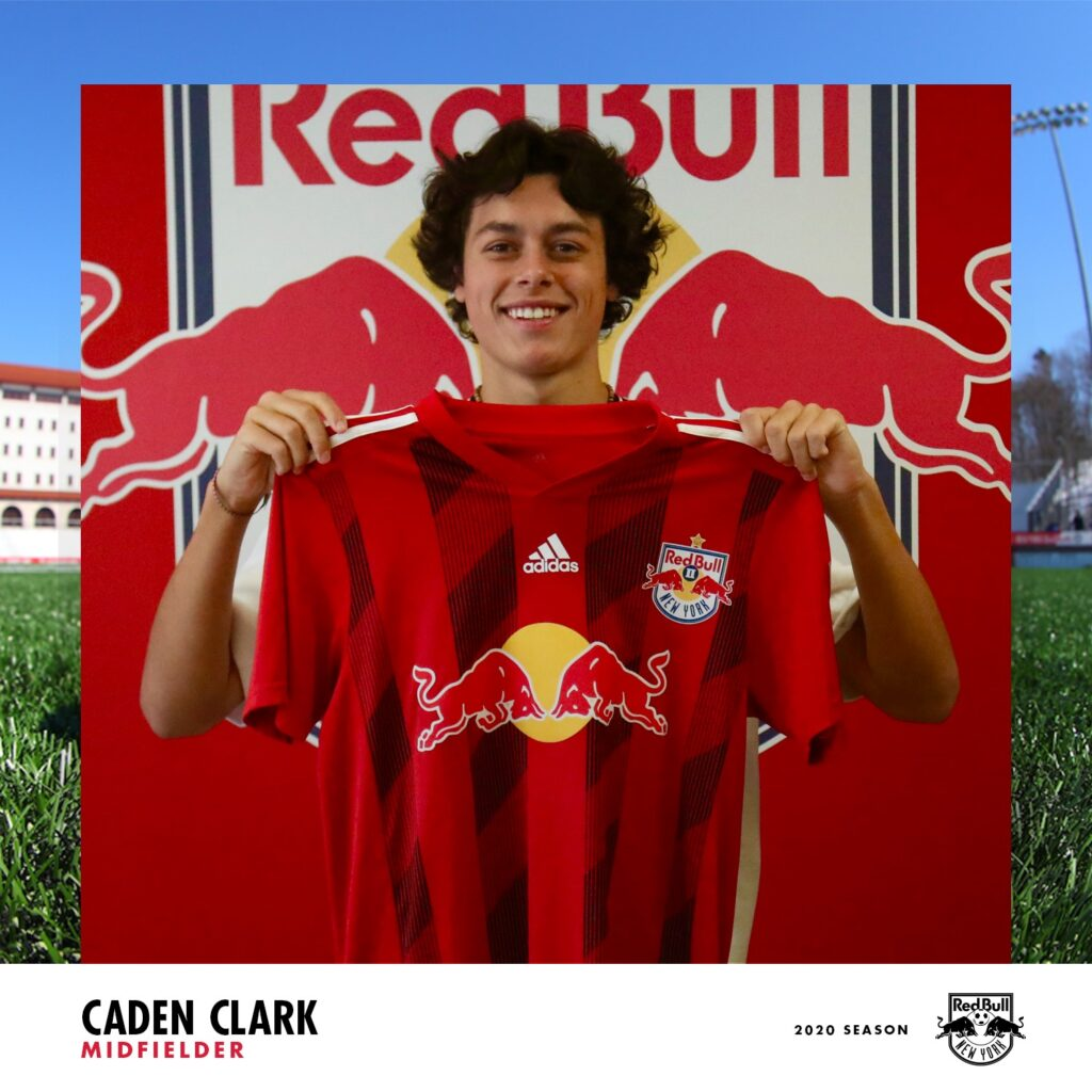 MTA player Caden Clark signs with NY Red Bulls